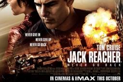 MAYOR YANG TAK AKAN PERNAH KEMBALI, JACK REACHER: NEVER GO BACK